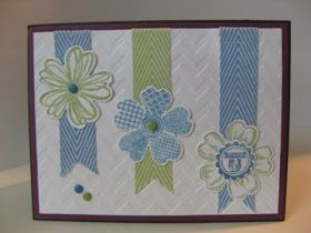 Stamp & Scrap with Frenchie: Chevron Ribbon with Frenchie Team part 2