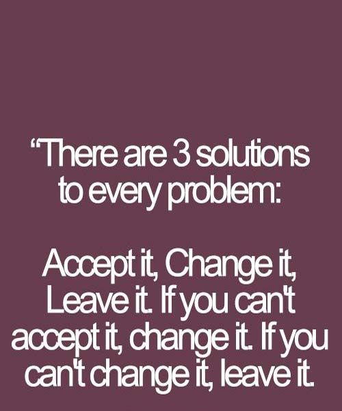 Three solution of problms