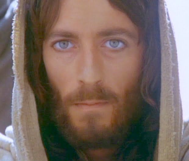 "Robert Powell - ""Jesus of Nazareth"" (Franco Zefirelli) One of my favorite movies as a teenager."