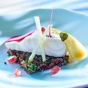 Bar vapeur et salade de quinoa - une recette Poisson - Cuisine