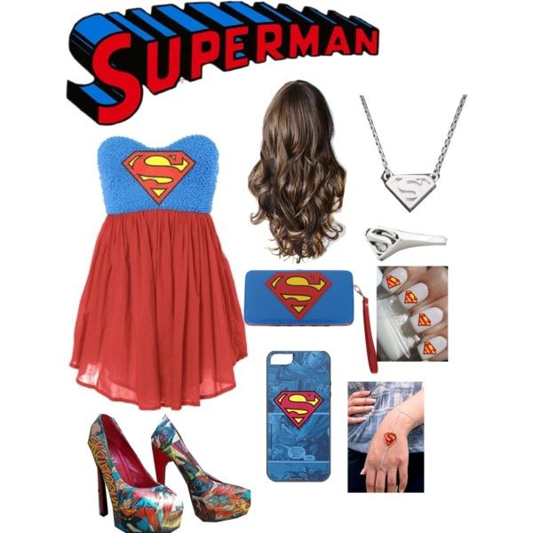 Superman dress, haloween costume