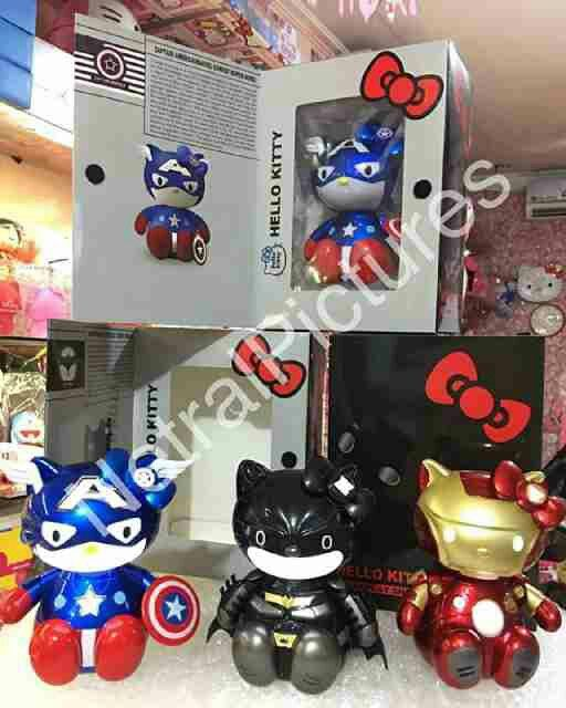 #miniatur #hellokitty edisi #superhero @ 230.000