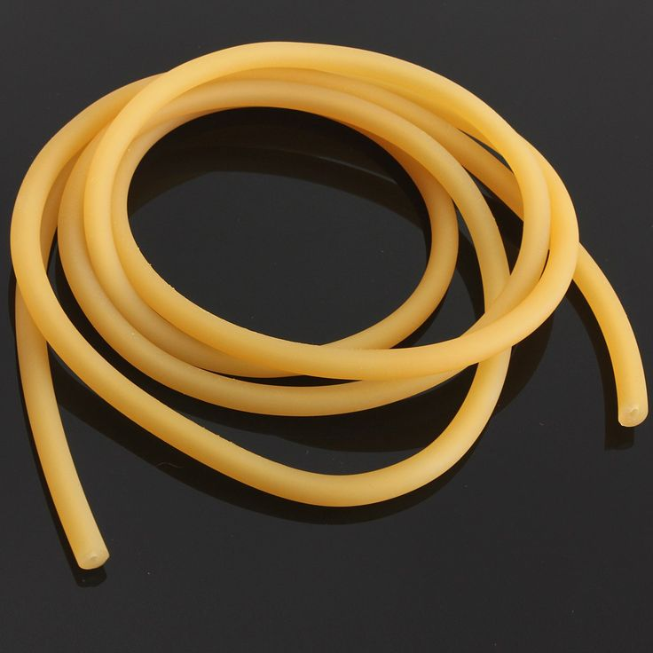 1m/2m/5m/10m Natural Latex Slingshots Rubber Tube Tubing for Band Hunting Catapult Elastic Part Fitness Bungee gun accessories