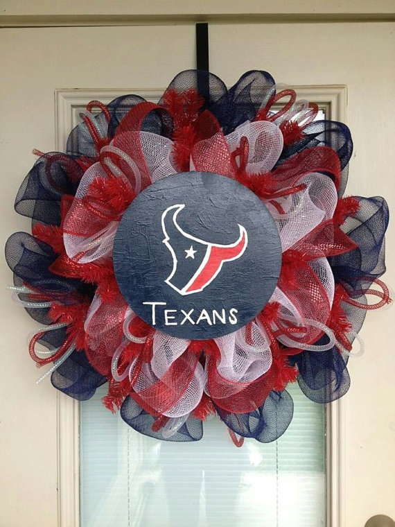 Door Wreath  Houston Texans  Sports Wreath by SouthernWreathDesign, $80.00