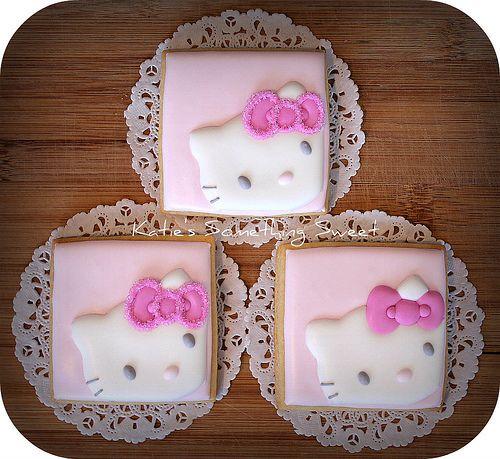 Chic Hello Kitty Cookies