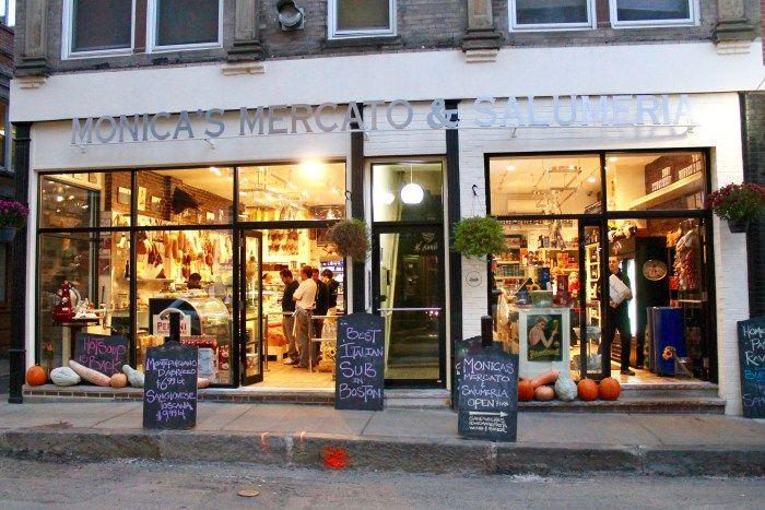 Monica's Mercato & Salumeria in the North End   5 Must-Visit Boston Neighborhoods   Feather & Flint
