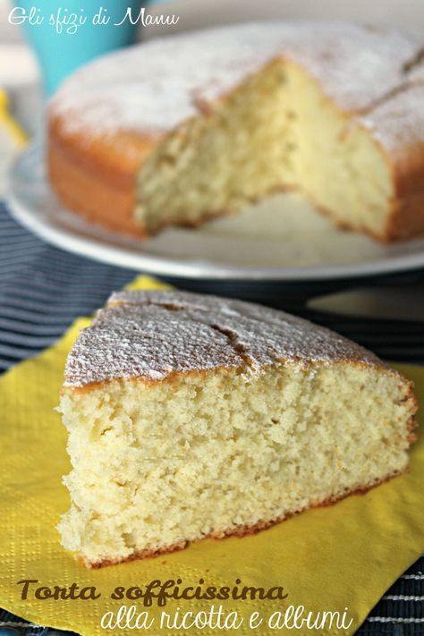 Cheesecake and egg whites | Torta ricotta e albumi | Gli sfizi di Manu in un Sol Boccone