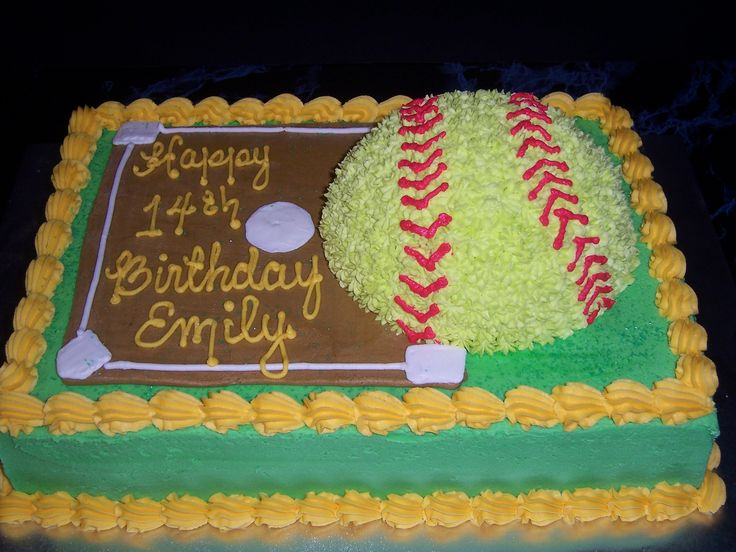 i would have loved this cake in high school! FC colors and everything.