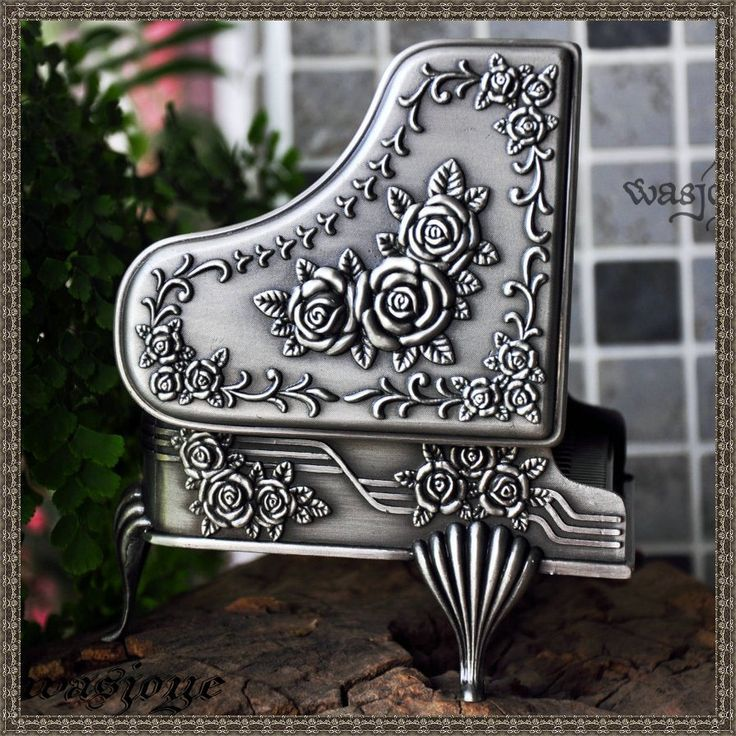 $9 silver music box jewely box for Mom/ Mother's day gift - zzkko.com