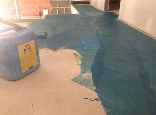 DPM floor with F78 @FBallUK for Wadhurst Nisa local stores
