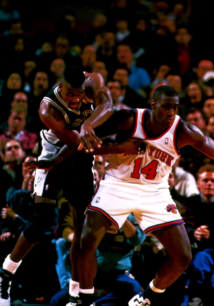 David Robinson & Anthony Mason