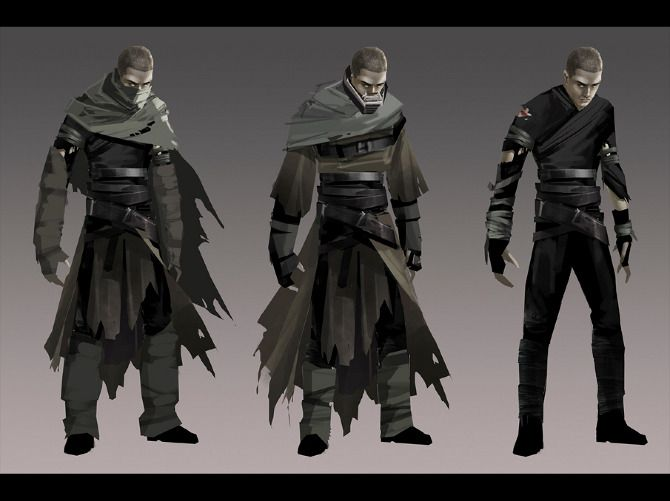 star wars outfit concept | Force Unleashed I - artbyabc.com