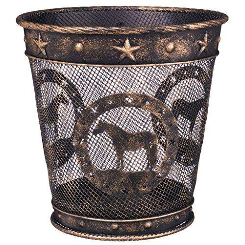 Wastebasket Bronze Quarter Horse Gift Corral https://www.amazon.com/dp/B00M62RDIM/ref=cm_sw_r_pi_awdb_x_zSLpybC0DQN72