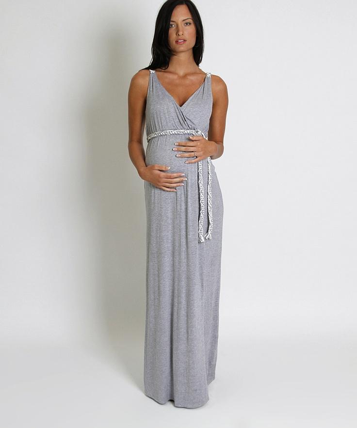 Sofia maxi maternity dress