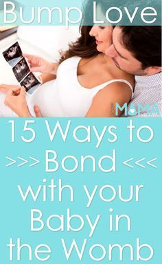 15 Ways to Bond with Your Baby in the Womb