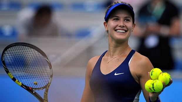 Eugenie Bouchard of Westmount, Que., will meet Petra Kvitova for the Wuhan Open title in a rematch of the Wimbledon final.