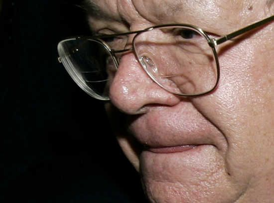 Reports: There's a second alleged Dennis Hastert abuse victim. U.S. House of Representatives Speaker Dennis Hastert (R-IL) leaves the Committee on Standards of Official Conduct on Capitol Hill in Washington October 24, 2006. Hastert appeared before the bipartisan congressional ethics panel for questioning about what
