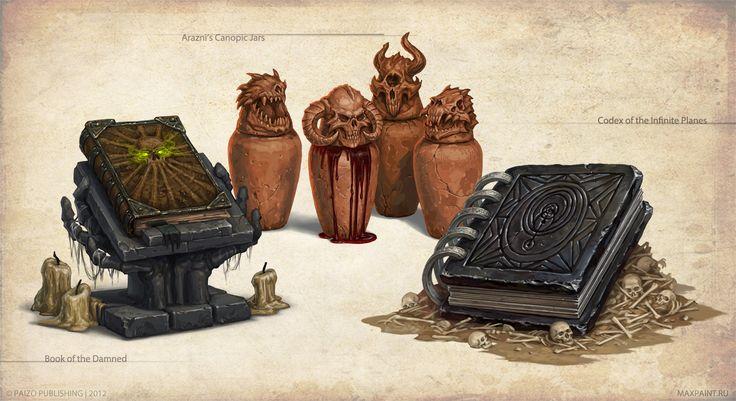 Artifacts and Legends_3 by KateMaxpaint.deviantart.com on @deviantART