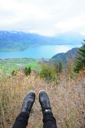 View from Harder Kulm. Just sit back and relax.