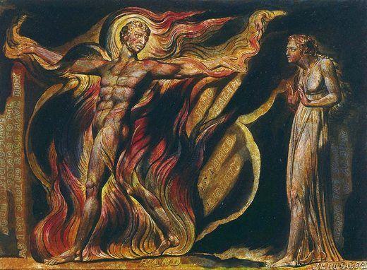Jérusalem planche n°26, par William Blake