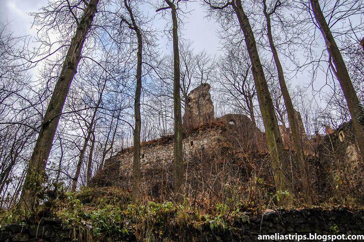 Amelii podróże małe i duże - przystanek Wrocław: Ruiny zamku Gryf - nie czyń podobnie...