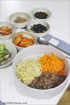 콩나물 소고기 비빔밥