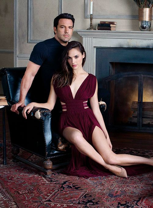Ben Affleck, Gal Gadot and Henry Cavill photographed by Marc Hom