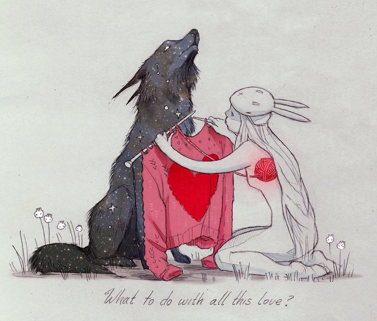 What to do with all this love? (Artist: Chiara Bautista)
