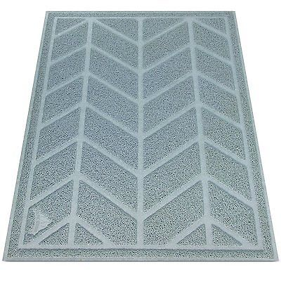 Cat Litter Mat by Alpine Neighbor XL Jumbo to Trap Litter and Keep Floors Clean