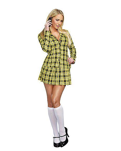 "Fancy Girl Adult Womens Costume - Spirithalloween.com. ha! 90's ""Clueless"" costume! omg."