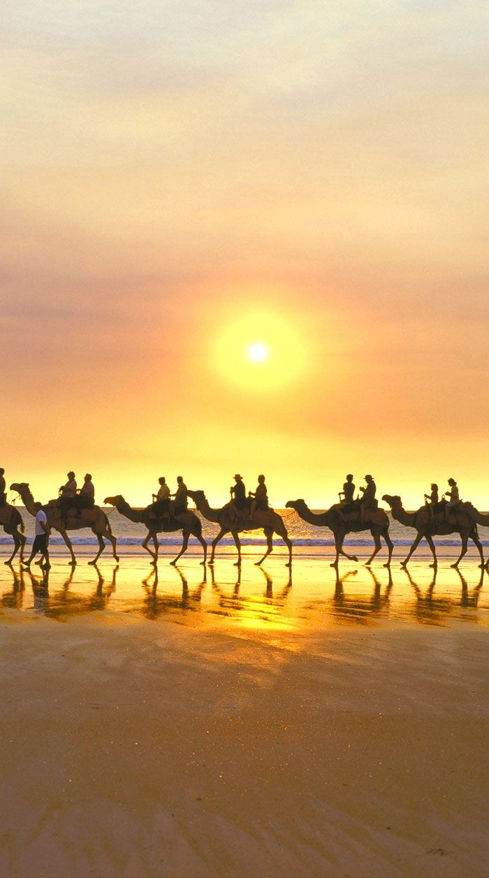 Sunset at Cable Beach, Australia—see sample itinerary