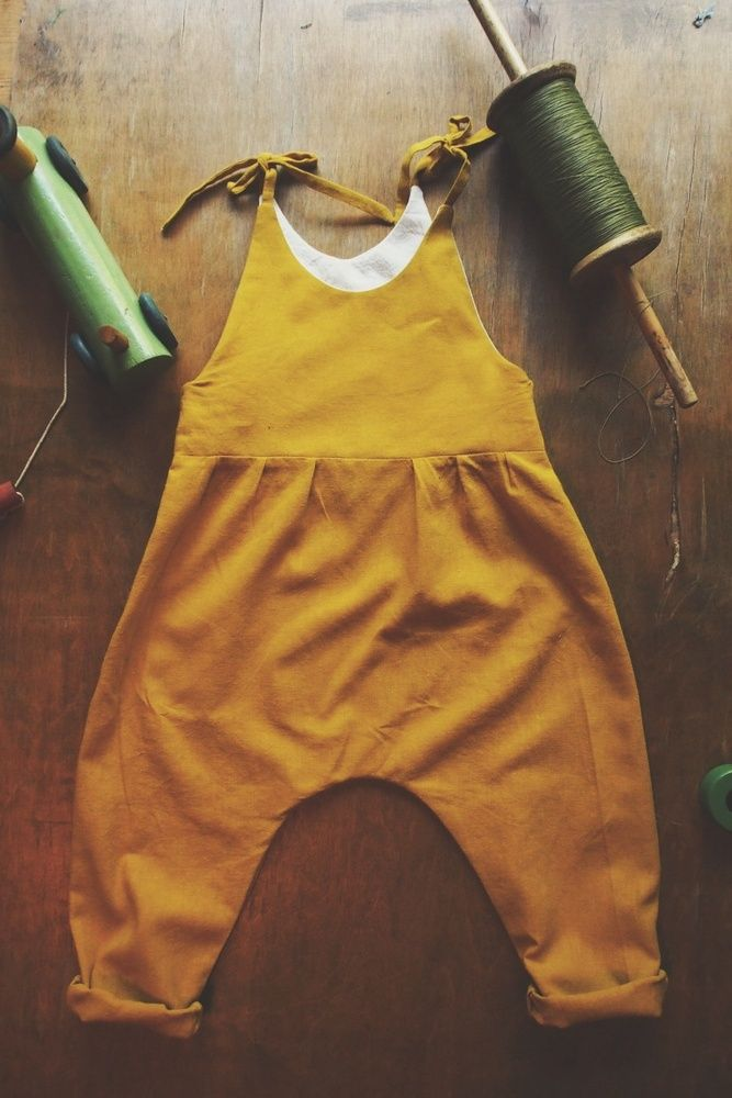 Naturally dyed Penny Overalls
