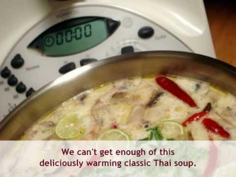 So delicious! Thermomix Thai Soup #recipe (Tom Ka Gai)