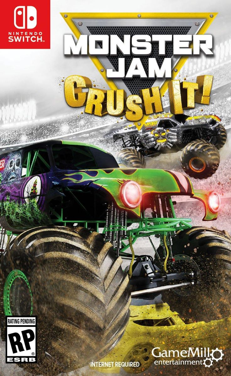 Monster Jam Crush It Nintendo Switch GameStop