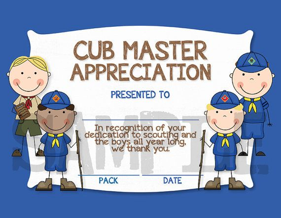 17 Best images about Cub Scout - Leader Gifts on Pinterest ...