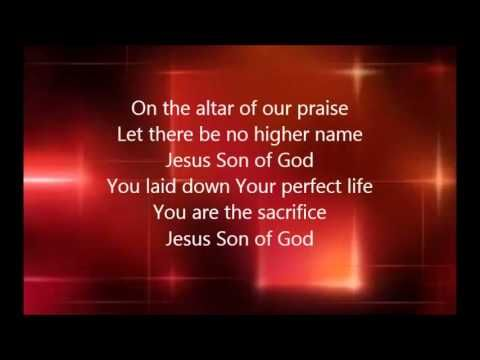 Chris Tomlin - Jesus Son of God with Lyrics  Hard to think of the cross at Christmas. It was the purpose for His birth and life here in the first place.