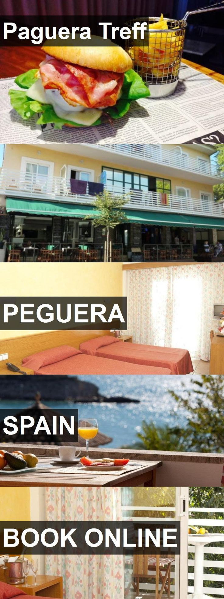 Hotel Paguera Treff in Peguera, Spain. For more information, photos, reviews and best prices please follow the link. #Spain #Peguera #travel #vacation #hotel