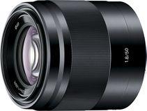 Sony - 50mm f/1.8 Optical Lens For Sony E-Mount - Black