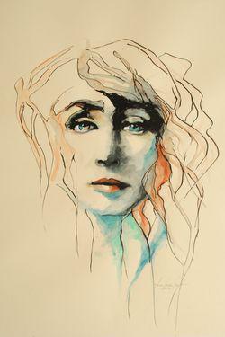"Saatchi Art Artist Anna Maria Matykiewicz ; Painting, ""No title "" #art"