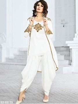 White Salwar Suit