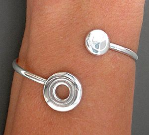 Ellen Burr - Flute Jewelry -- open hole and trill key bracelet