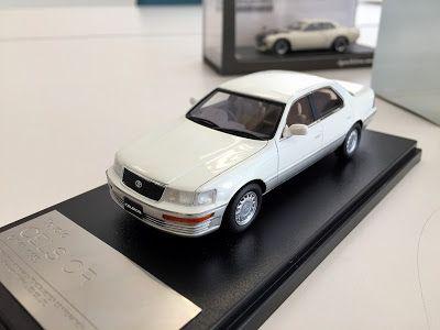 日本自動車デザインコーナー 「Japanese Car Design Corner」: Toyota Celsior 1989 model by…
