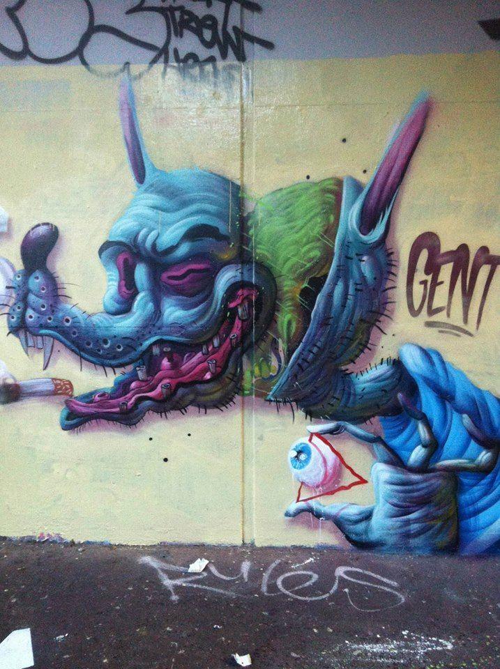 Street Art - Artist: Gent48