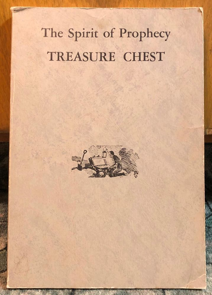 The Spirit Of Prophecy Treasure Chest Ellen G White C 1960 Egw Estate 192 Pp Pb Ellen G White Treasure Chest Prophecy