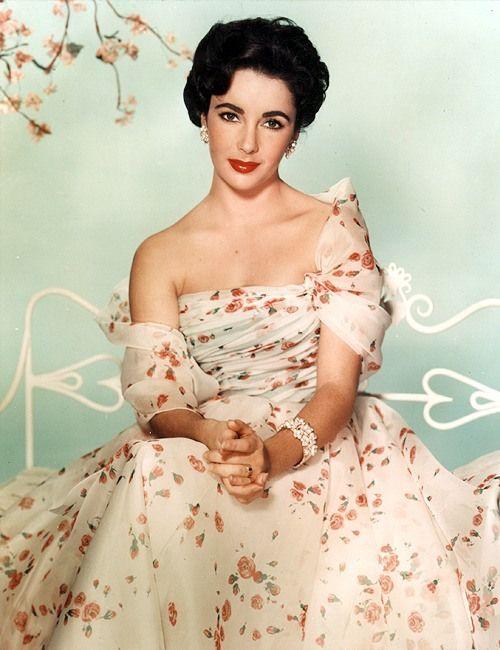 Old Hollywood Dresses –Elizabeth Taylor