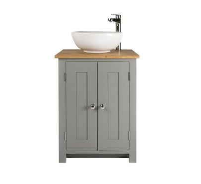 The Awesome Web Bathroom vanity cabinet with countertop and bowl sink Freestanding solid wood bathroom washstands from The