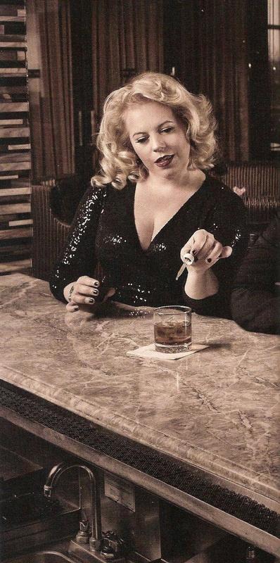 vintage glamour Garcia!  Kirsten Vangsness.