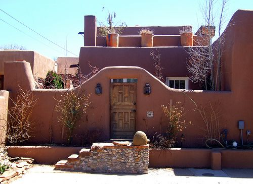 137 best adobe houses images on pinterest southwestern for Adobe home construction