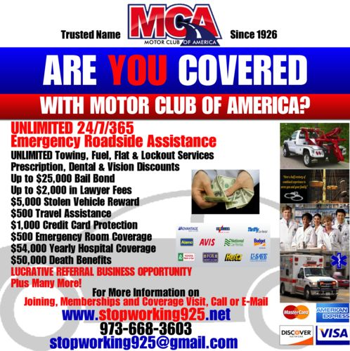 1000 images about motor club of america on pinterest Motor club of america careers