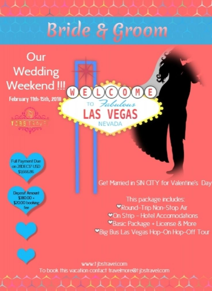 Did You Say Wedding Las Vegas Great I Have Just The Package Dor